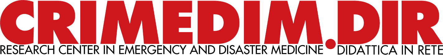 Centro di Ricerca Interdipartimentale in Medicina d'Emergenza e dei Disastri e di Informatica applicata alla didattica e alla pratica Medica